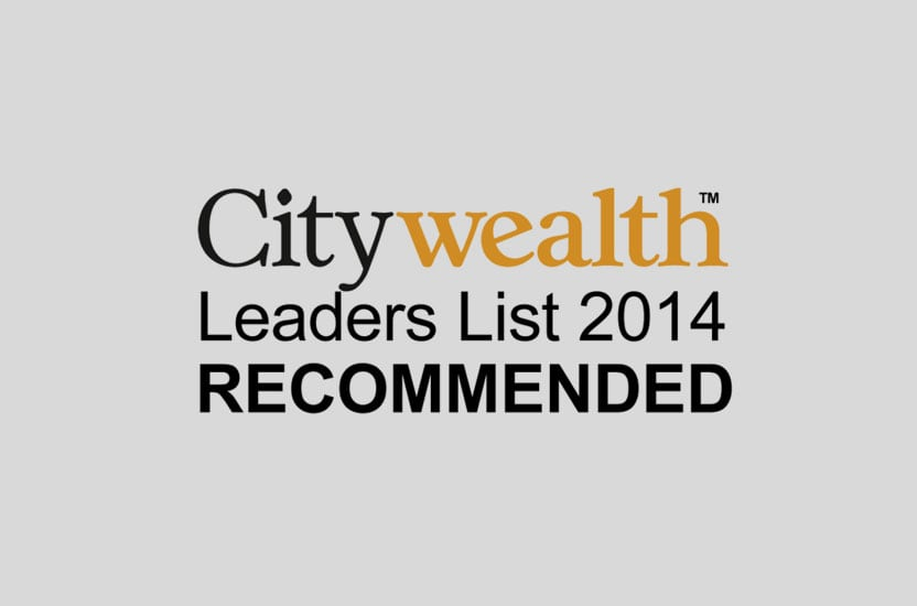 Citywealth Leaders List 2014