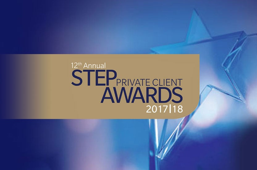 Payne Hicks Beach shortlisted for STEP Private Client Awards 2017/18
