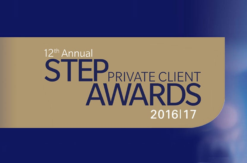 Payne Hicks Beach shortlisted for STEP Private Client Awards 2016/17