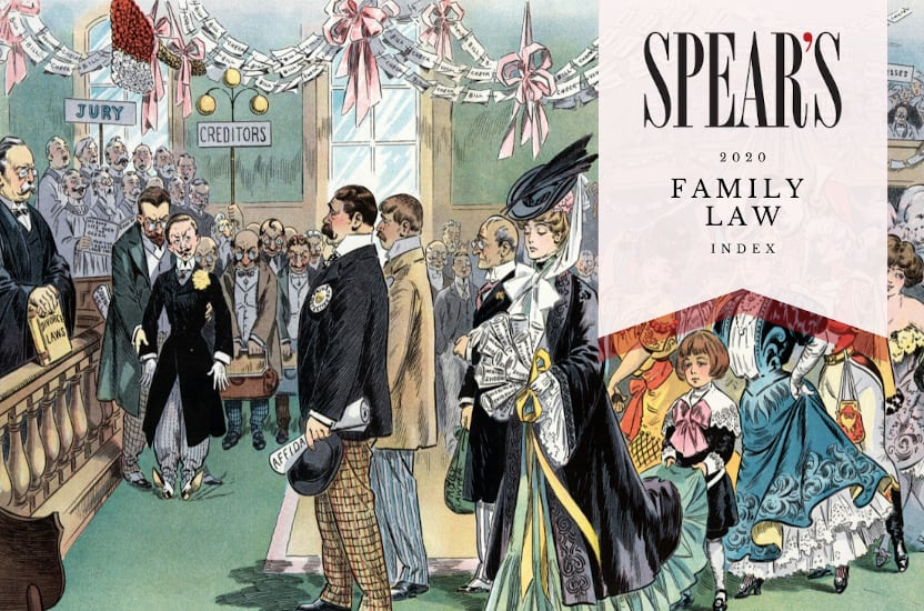 The Spear's Family Law Index 2020: Fiona Shackleton, Rebecca Cockcroft, Philip McGuirk, Ben Parry-Smith